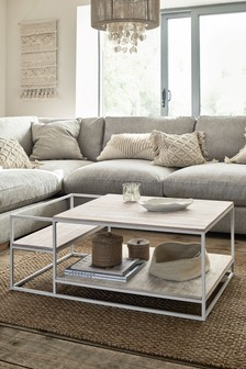 White Jefferson Coffee Table