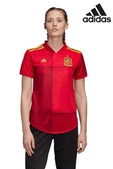 adidas Spain Home Football Shirt