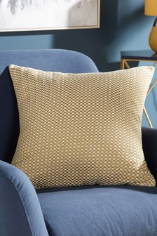 Chenille Square Cushion