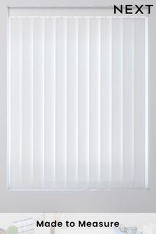 Herringbone White Made To Measure Vertical Blind