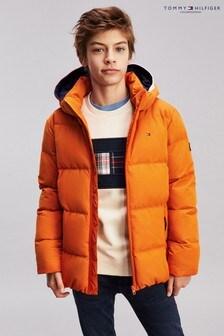 Tommy Hilfiger Orange Essential Padded Jacket