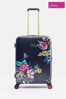 Joules Cambridge Floral Suitcase Large