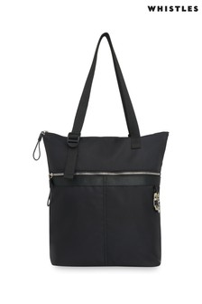 Whistles Recycled Nylon Tote Bag