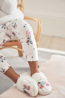White Fairy Cupsole Slippers