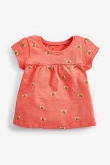 Bee Print GOTS Organic Cotton T-Shirt (3mths-7yrs)