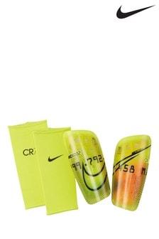 Nike Yellow CR7 Mercurial Shin Guards