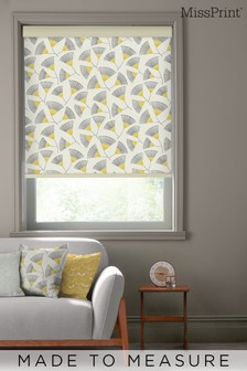 Persia Picalilli Yellow Made To Measure Roller Blind by MissPrint