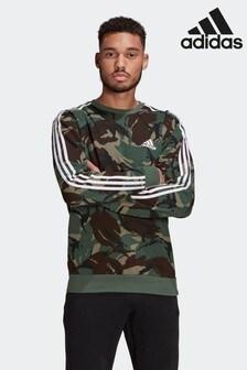 adidas Camo Long Sleeve T-Shirt