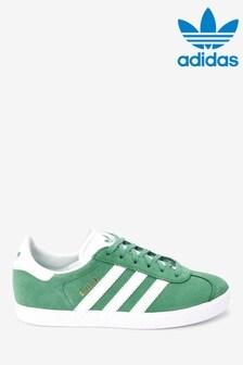 adidas Originals Green Gazelle Youth Trainers