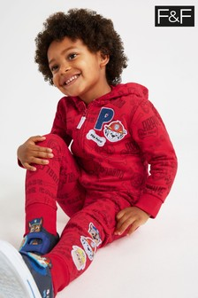 F&F Kids Red Paw Patrol Joggers