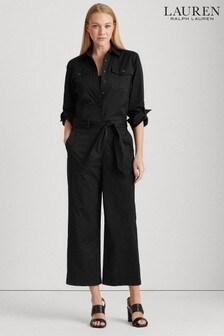Lauren Ralph Lauren® Black Zihna Utility Jumpsuit