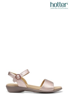 Hotter Tropic Slim Fit Buckle Fastening Open Sandals