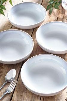 Logan Set of 4 Pasta Bowls