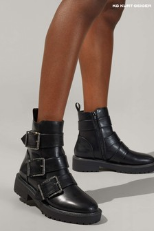 Kurt Geiger Black Trixie Boots
