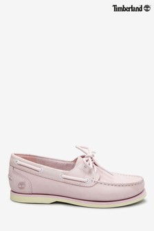 Timberland® Blush Pink Classic Unlined Boat Shoes