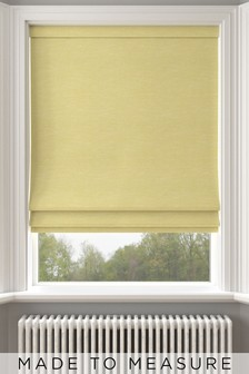 Jameson Sorbet Yellow Made To Measure Roman Blind