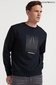 Emporio Armani Eagle Graphic Sweater
