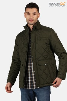 Regatta Green Locke Quilted Jacket
