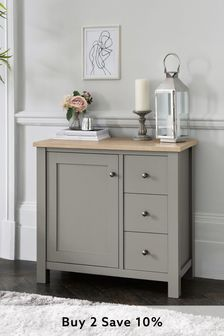 Dove Grey Malvern Sideboard