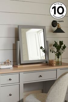 Dove Grey Malvern Dressing Table Mirror