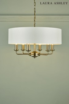 Laura Ashley Sorrento 6 Light Armed Fitting Ceiling With Shade