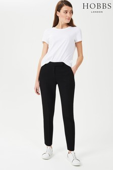 Hobbs Black Ophelia Slim Trousers