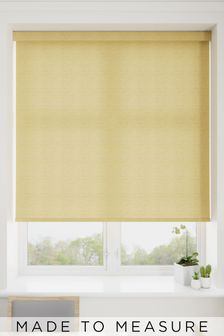 Umbra Dijon Yellow Made To Measure Roller Blind