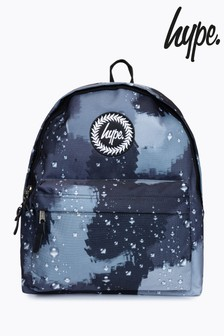 Hype. Black Rain Drop Camo Backpack