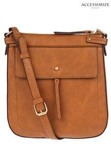 Accessorize Tan Messenger Bag