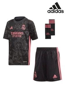 adidas Black Real Madrid 20/21 Kit