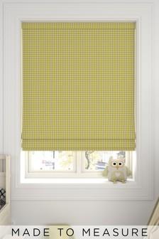 Melrose Sorbet Yellow Made To Measure Roman Blind