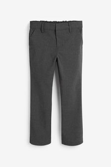Grey Plus Waist Formal Stretch Skinny Trousers (3-17yrs)