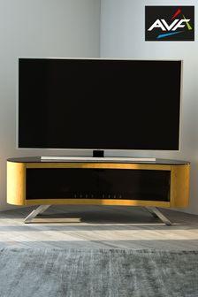 Oak AVF Bay 1500 Curved TV Stand