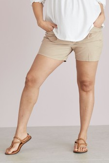 Sand Maternity Chino Shorts