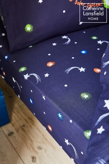 Happy Space Fitted Sheet by Catherine Lansfield