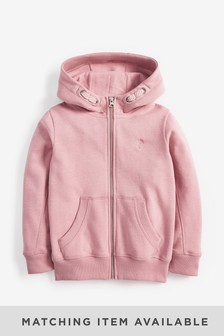 Pink Zip Through Hoody (3-16yrs)