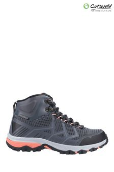 Cotswold Grey/Coral Wychwood Mid Hiking Boots