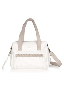 Girls Ivory Braided Changing Bag