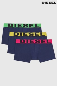 Diesel® Logo Trunks 3 Pack