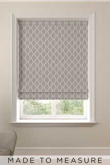 Taylor Linen Cream Made To Measure Roman Blind