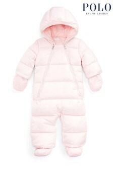 Ralph Lauren Pink Snowsuit