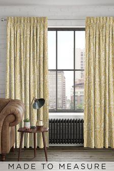 Garrick Sunflower Yellow Made To Measure Curtains