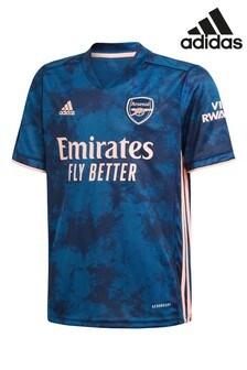 adidas Arsenal FC Navy Third 20/21 Kids Football Shirt