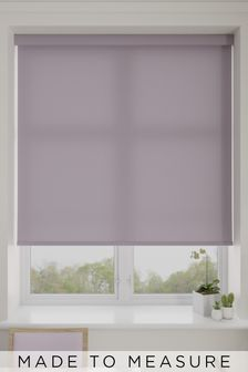 Asher Mauve Purple Made To Measure Light Filtering Roller Blind
