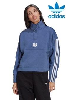 adidas Originals Fleece Sweat Top