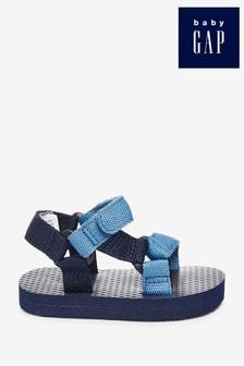 Gap Baby Navy Trek Velcro Sandals