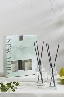 Set of 2 New York 85ml Diffusers