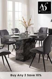 Black Indigo Dining Table by Alfrank