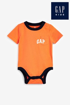 Gap Orange Bodysuit