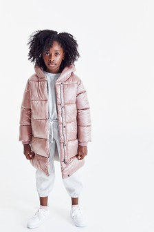 Toffee Shower Resistant Padded Coat (3-16yrs)